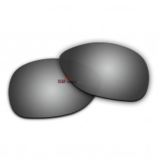 Replacement Polarized Lenses for Oakley Crosshair 2012 (Crosshair New)  (Silver Coating Mirror)