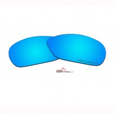 Replacement Polarized Lenses for Oakley C Wire New (OO4046, Year 2011)  (Blue Coating)
