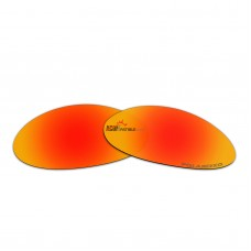 Replacement Polarized Lenses for Oakley E Wire (Gen 1)  (Fire Red Mirror)