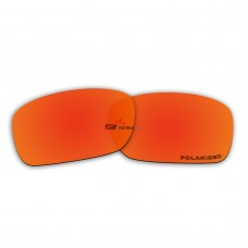 Polarized Lenses for Oakley Fives Squared New (2013) (Fire Red Mirror)