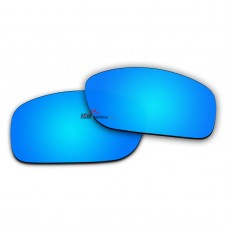 Replacement Polarized Lenses for Oakley Fives Squared New (2013)  OO9238 (Blue Mirror)