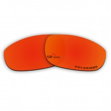 Replacement Polarized Lenses for Oakley Fives 4.0 (Fire Red Mirror)