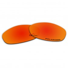 Replacement Polarized Lenses for Oakley XS Fives (Fire Red Mirror)