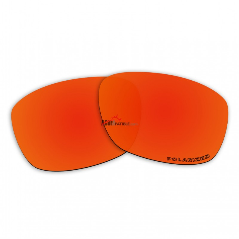6165d26134 Replacement Polarized Lenses for Oakley Forehand OO9179 (Fire Red Mirror)  ...