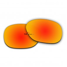 Replacement Polarized Lenses for Oakley Garage Rock OO9175 (Fire Red Mirror)
