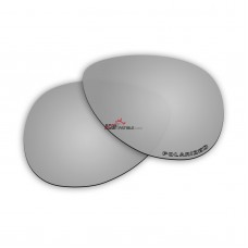 Replacement Polarized Lenses for Oakley Hinder OO4043 (Silver Mirror)