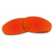 Replacement Polarized Lenses for Oakley Juliet (Fire Red Mirror)