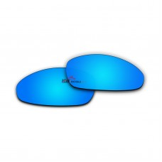 Replacement Polarized Lenses for Oakley Juliet (Blue Coating Mirror)