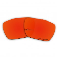 Replacement Polarized Lenses for Oakley Jury OO4045 (Fire Red Mirror)
