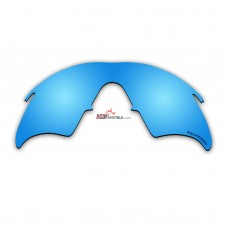 Replacement Polarized Lenses for Oakley M Frame Heater New, (1999) (Ice Blue Mirror)