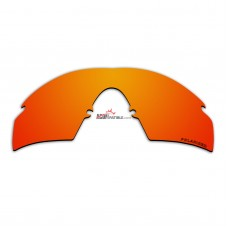 Polarized Lenses for Oakley M Frame Strike New, (1999) (Fire Red Mirror)