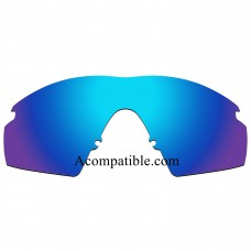 Replacement Polarized Lenses for Oakley M Frame Strike New, (1999) (Ice Blue)