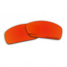 Replacement Polarized Lenses for Oakley Nanowire 4.0 (Fire Red Mirror)