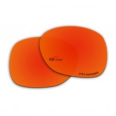 Replacement Polarized Lenses for Oakley Necessity OO9122 (Fire Red Mirror)
