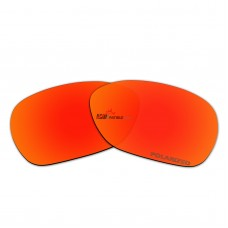 Replacement Polarized Lenses for Oakley Overtime OO9167 (Fire Red Coating)