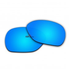 Replacement Polarized Lenses for Oakley Overtime OO9167 (Blue)