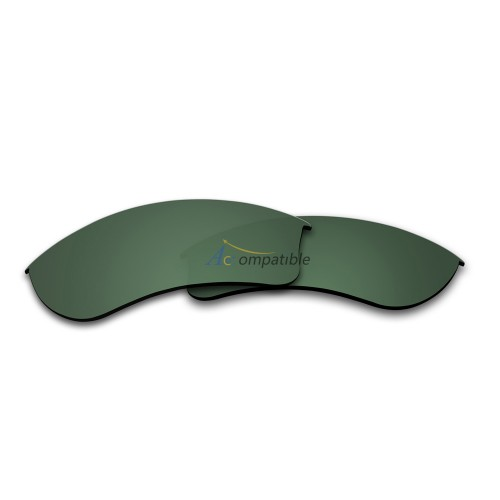 Replacement Polarized Lenses for Oakley Half Jacket 2.0 XL OO9154 (Green)