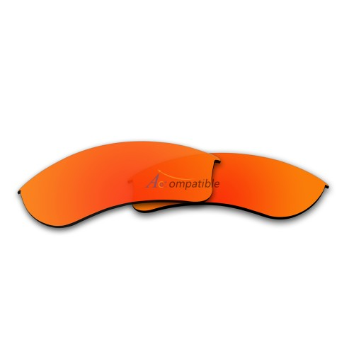 Replacement Polarized Lenses for Oakley Half Jacket 2.0 XL OO9154 (Fire Red Mirror)