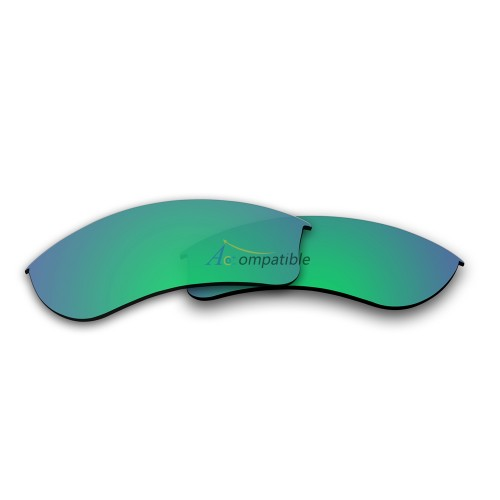 Replacement Polarized Lenses for Oakley Half Jacket 2.0 XL OO9154 (Emerald Green)