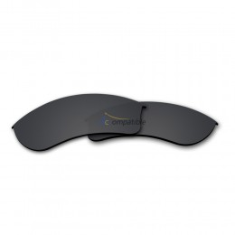 Replacement Polarized Lenses for Oakley Half Jacket 2.0 XL OO9154 (Black)