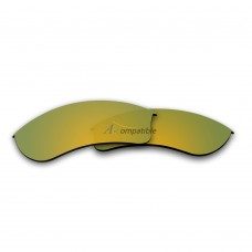 Replacement Polarized Lenses for Oakley Half Jacket 2.0 XL (Gold)