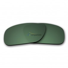 Oakley Holbrook Polarized Replacement Lenses (Green Color)