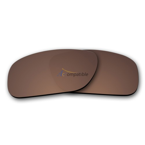 Replacement Polarized Lenses for Oakley Holbrook (Bronze Brown)