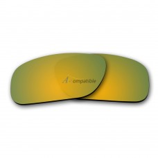 Replacement Polarized Lenses for Oakley Holbrook (Gold Mirror)