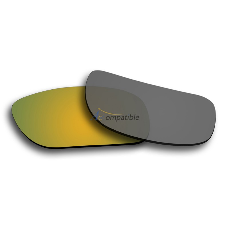 3fe6d8786d ... Polarized Lenses for Oakley Holbrook 2 Pair Color Combo (Gold Mirror