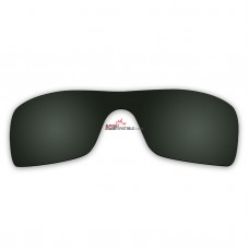 Replacement Polarized Lenses for Oakley Batwolf OO9101 (Green)