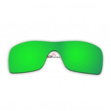 Replacement Polarized Lenses for Oakley Batwolf (Green Coating)
