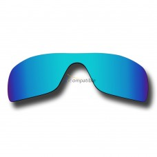 Replacement Polarized Lenses for Oakley Batwolf OO9101 (Blue Coating Mirror)