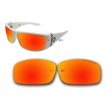 Polarized Replacement Sunglasses Lenses for Spy Optics Cooper XL (Fire Red Mirror)