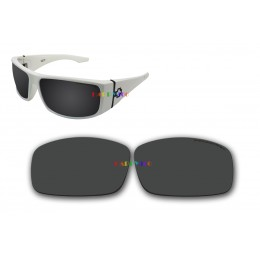 Polarized Replacement Sunglasses Lenses for Spy Optics Cooper XL (Black)