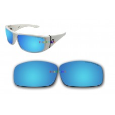 Polarized Replacement Sunglasses Lenses for Spy Optics Cooper XL  (Ice Blue Mirror)